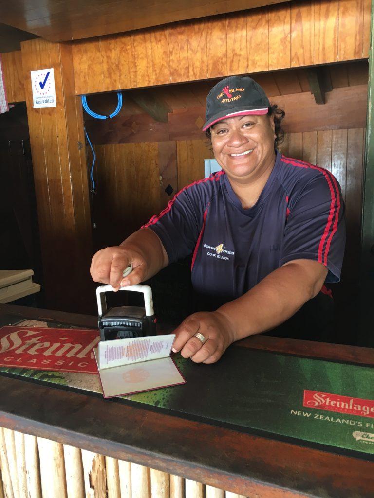 Das kleinste Postamt der Welt auf One Foot Island