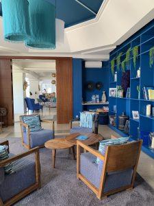 Hotel les Bulles de Meer,Bibliothek