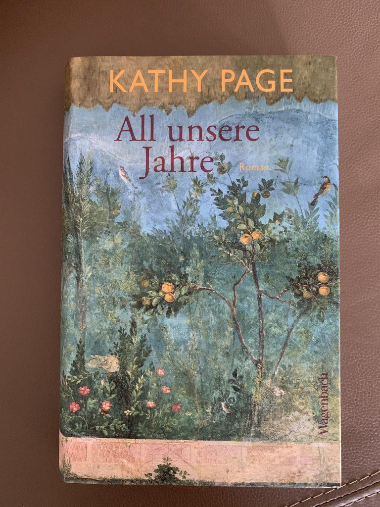 Buchcover All unsere Jahre von Kathy Page